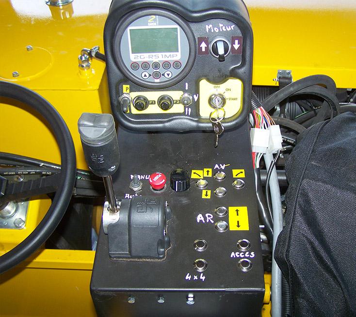 Cabine remorque porte palox motorisée